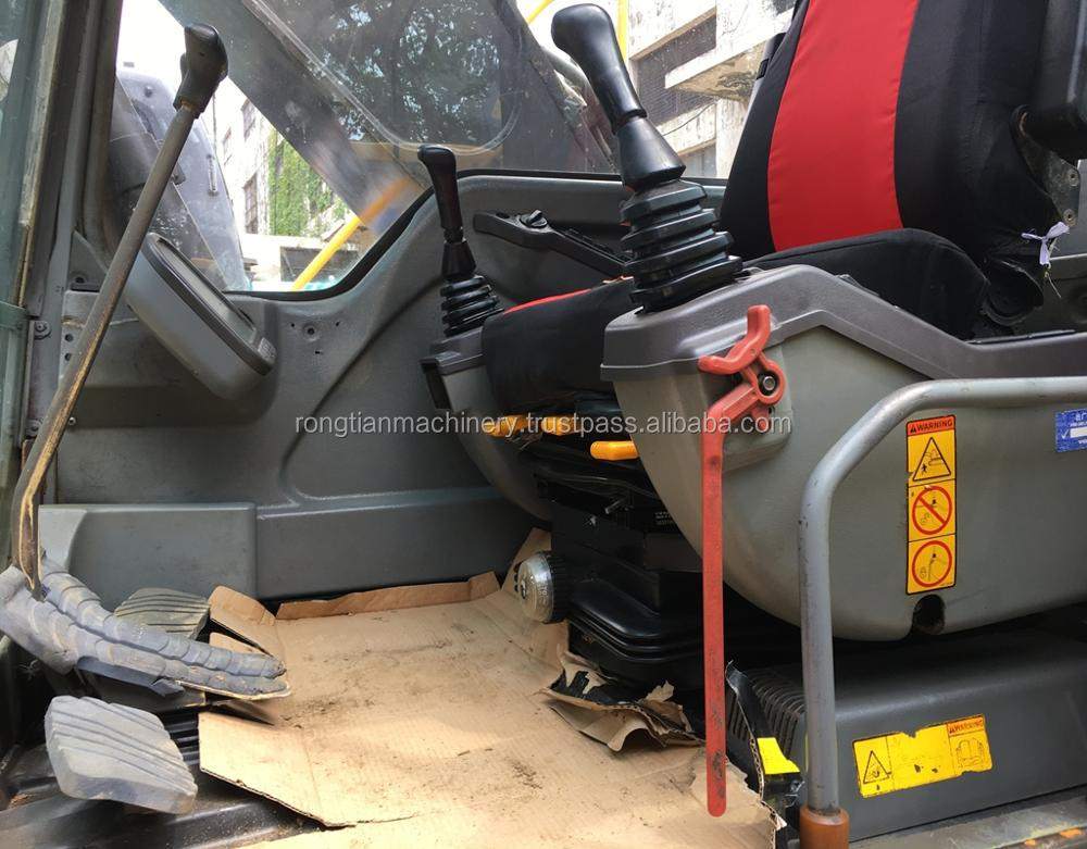 Running condition 20t Japanese used volvo EC210 excavator for sale in Shanghai site