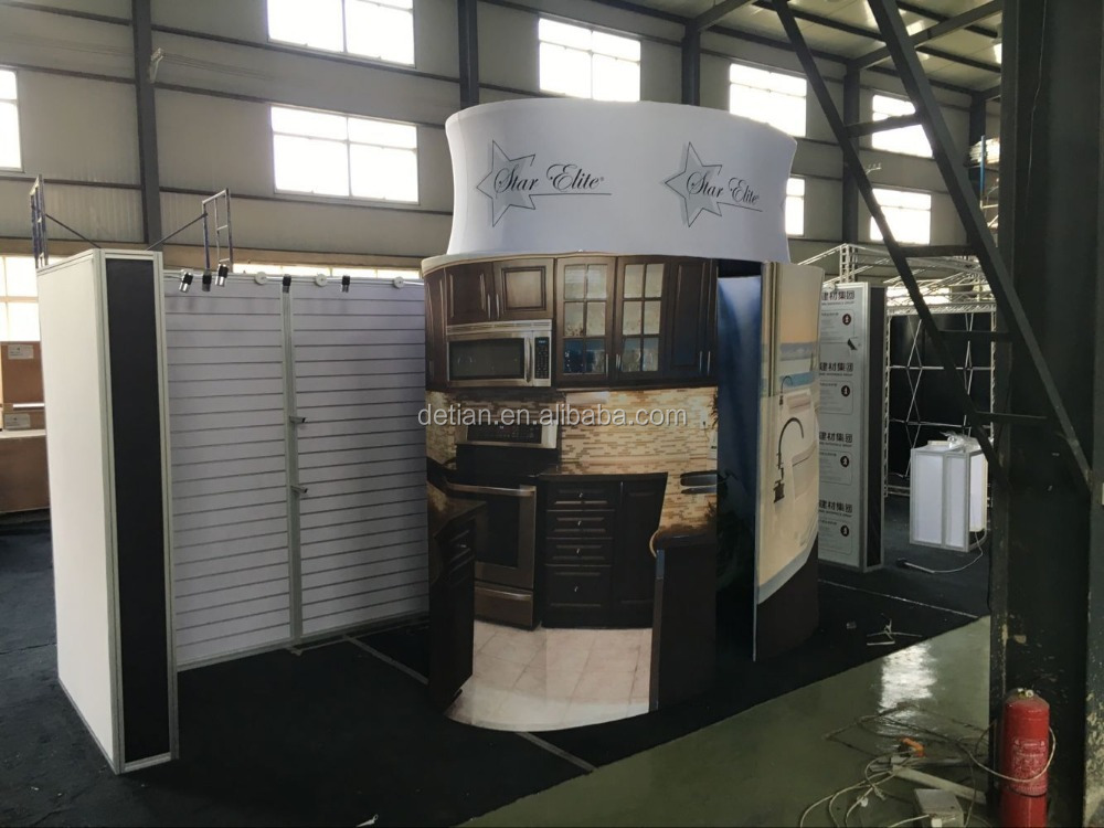 trade show exhibition stand from Shanghai
