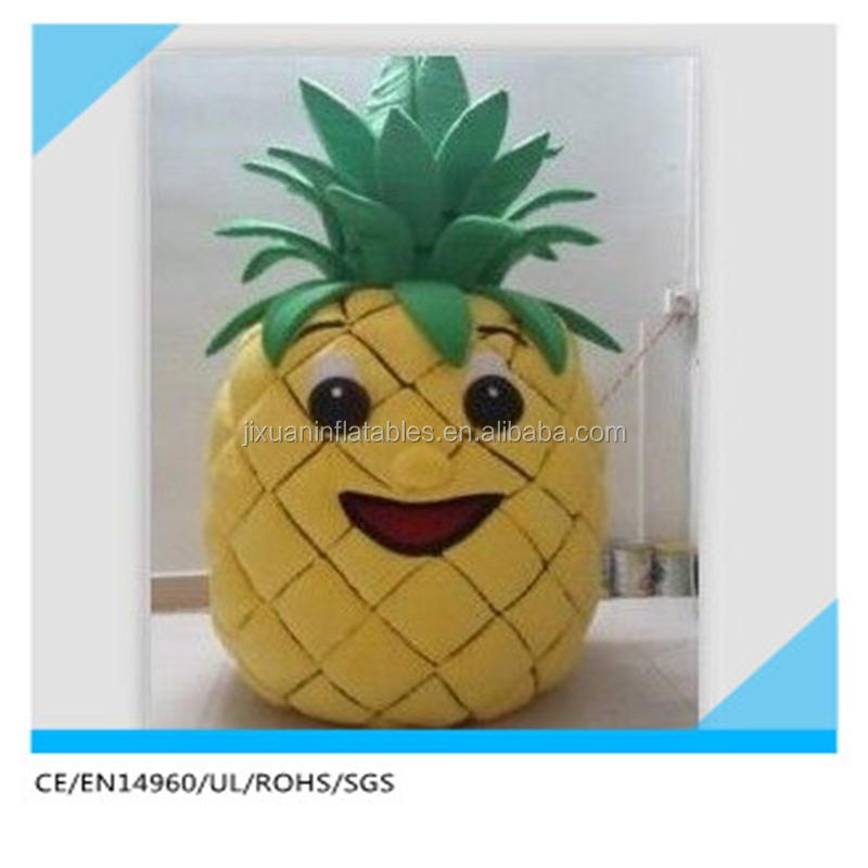 Hola fruit pineapple costume/Advertising mascot costume