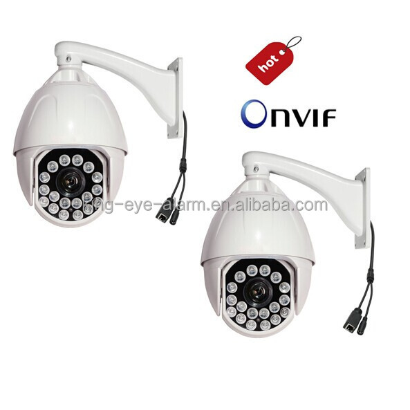 Varifocal ir dome cameras, outdoor PTZ surveillance cameras with auto focus 22X zooming