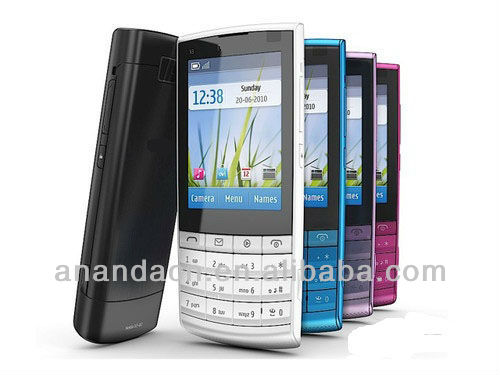 Original X3-02 cell phone 3G wifi java bluetooth X3-02 Unlocked Mobiles Phone 5MP camera GSM bar phone