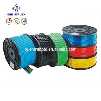 Most favorable small diameter high tensile strength air intake soft polyurethane tubing by foot