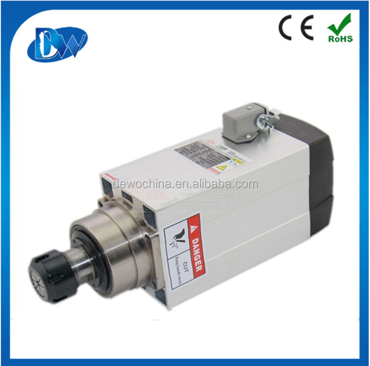 4.5kw air cooled cnc router spindle motor 18000rpm ER32