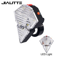 Jialitte B039 wholesale bicycle safety rear light 2 red laser waterproof taillight 9 LED rechargeable mountain bike light