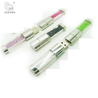 Oem factory china promotional crystal usb 16gb