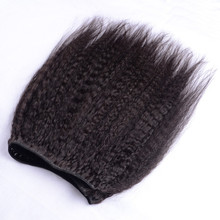 2017 highest kinky straight human hair, ethiopian virgin hair for black women