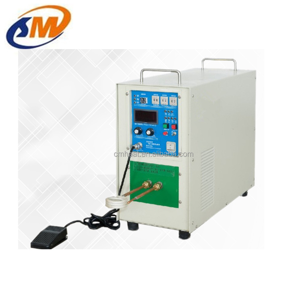 High frequency induction heating, hardening, forging, brazing machine