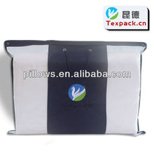 Eco-friendly material, clear PE and non-woven pillow bag TPKFR1307