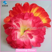 Cheap Decorative Colorful Hanging Silk Round Flower Ball Heads For Wedding