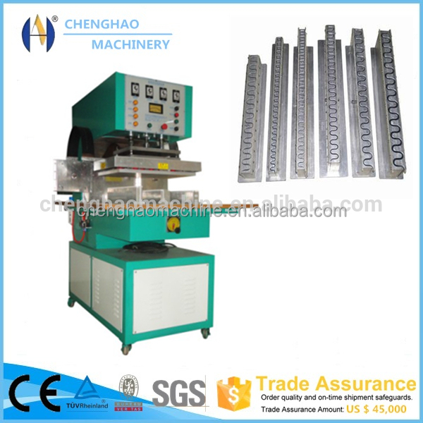 High Frequency Food Grade Belt Welding Machine For PU Conveyor Belt, CLEATED BELT CONVEYOR