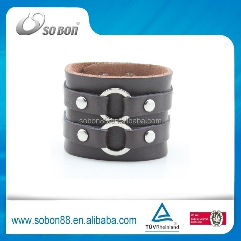 handmade leather bracelet designs DIY your own thoughts hot sale in 2015