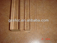 Plastic square rod