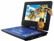 10''PDVD player portable dvd player with TV