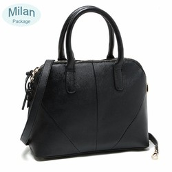 China manufacturer high quality custom ladies PU leather tote bag