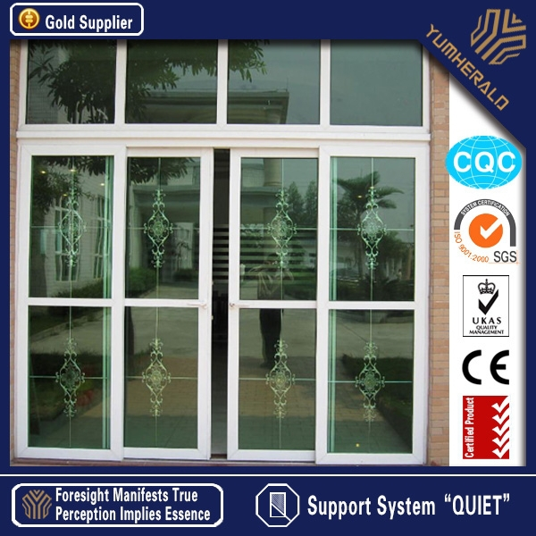 China Customized Aluminum Screen Sliding Door for Home Decoration