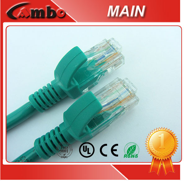 OEM Pirce Ethernet CAT5E Jumper Cables Unshielded Gold Plated Connector