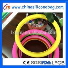 Silicone steering wheel cover disposable car covers