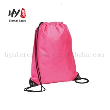 New deisgn nonwoven drawstring backpack sports foldable bag