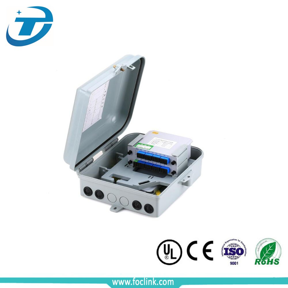 PC/ABS material optic fiber distribution box FTTH