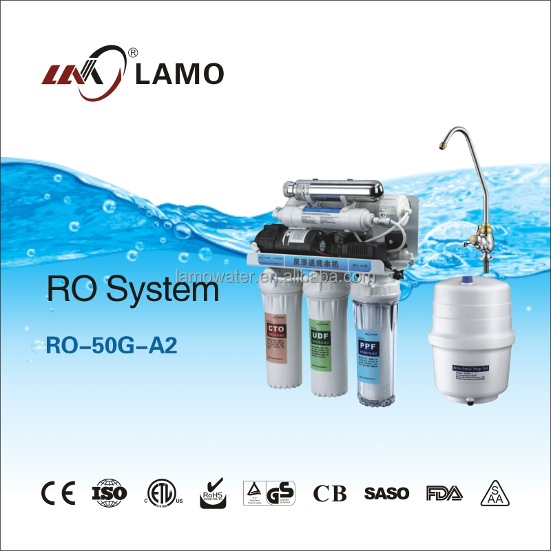 Residential <strong>R</strong>.O.System Water Purifier RO-50G-A1