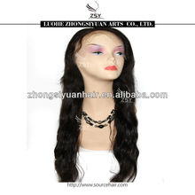 ZSY most popular top quality cheap price full lace wigs freestyle part