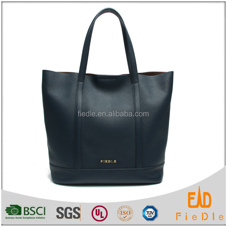 CSS664F001-genuine leather casual handbags tote bag italian shoes and bag sets