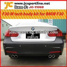 for BMW F30 body bumper parts body kit front bumper rear bumper side skirt F30 M tech PP body kit