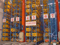 Automatic Storage and Retrieval racking System with High Quality Racking