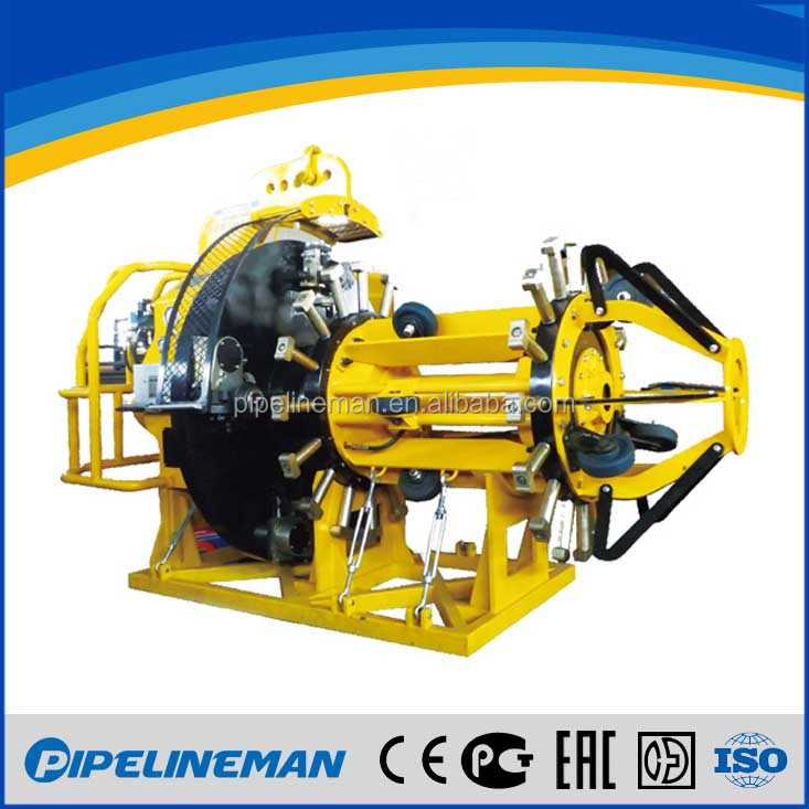 Pipe facing machine