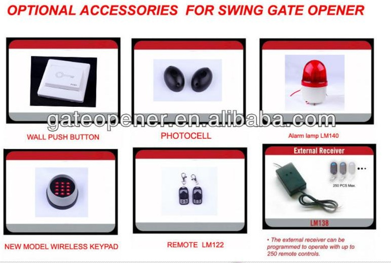 Automatic Swing Gate Motor with CE