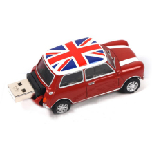 Plastic Super Mini Car USB Key Flash Memory Stick with Customized Logo 2GB, 4GB, 8GB, 16GB, 32GB