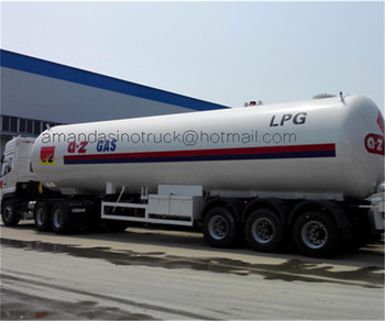 China factory supply large capacity liquefied petroleum gas lpg storage tank used for cooking 3-axle LPG tanker truck