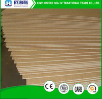 2-20mm white waterproof MDF board fibreboard
