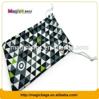 custom logo printed microfiber sunglasses pouch \small jewelry pouches