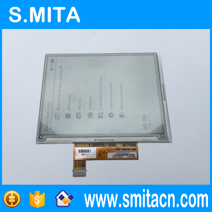 6 inch PVI Eink display model ED060SC8 ED060SC8(LF) for sony PRS650 ebook reader