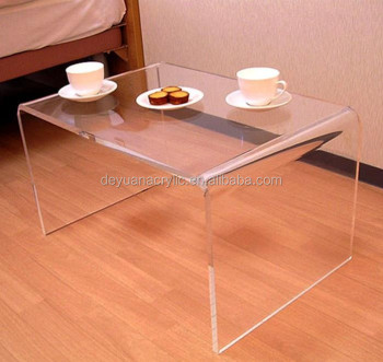 Top Sale Clear Acrylic Coffee Table/Transparent Table Used At Home