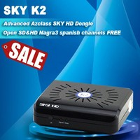 Cheapest factory price original azclass sky hd k2 Free iks Nagra3 dongle Sky hd k2 dongle sky hd