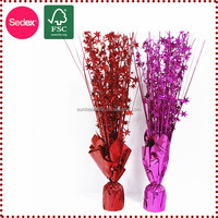 PVC products Christmas Table Centerpieces for Party Celebration