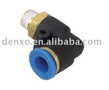 PL type Male Thread Plastic Air Coupler