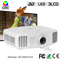 CRE X8000 3LCD 3LED Full HD LED Video 4K Projector 3D Connect Android WiFi Phone With RJ45 Port