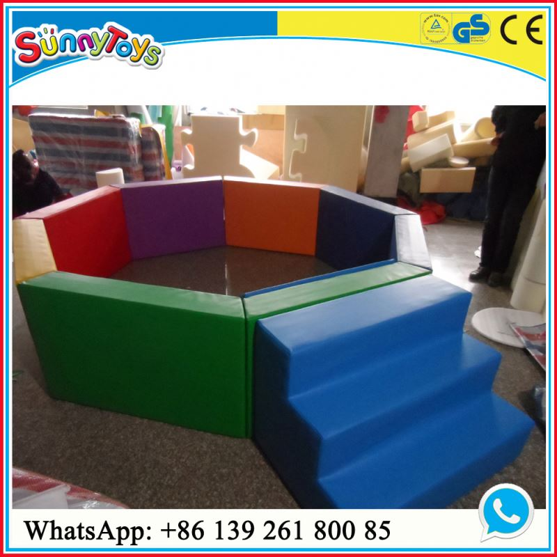 Indoor toddler play gym soft indoor playground equipment for kids indoor fun play