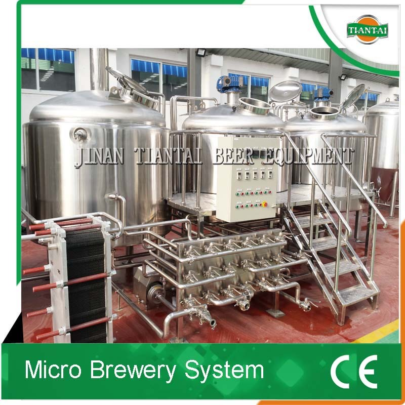 Hot sale stainless steel beer brewery plant for cask beer