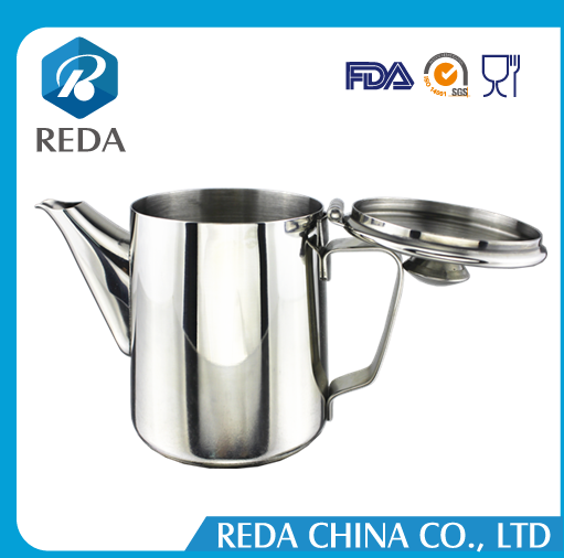 Tea cup / milk pitcher / water jug stainless steel With lid 350ml