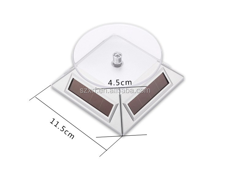 360 Degree Rotating Solar Display Stand