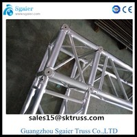 Aluminium truss Pillars For Wedding Decoration with pipe and drape in alibaba store
