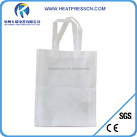 PP plastic woven sublimation shopping bag