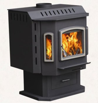 Steel Woodburning Wood Stoves (True fire Fireplace)
