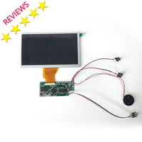 7 inch video greeting card components Lcd Brochure Module Video Brochure Modules TFT Module