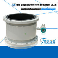 Electro magnetic water flow rate meter
