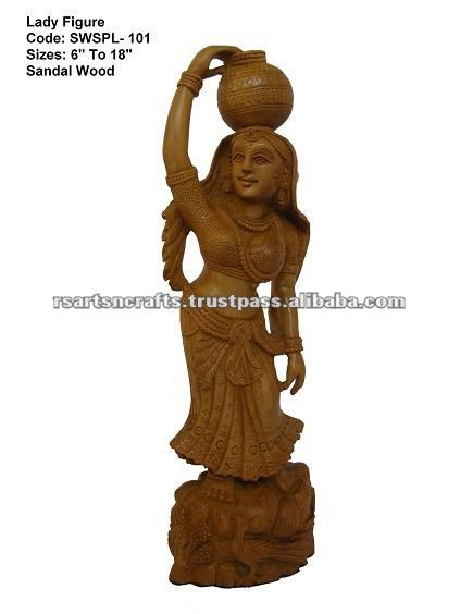 Sandalwood Carving Craft handmade statues figurine promotion gift, personal gift, home decoration